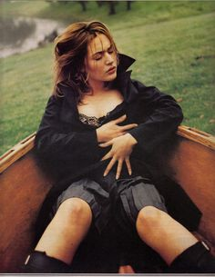 Kate Winslet in Rolling Stone Magazine in 1998