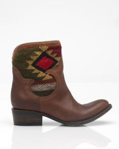 freebird+boots+   Freebird By Steven Caballero Short Boot in Brown - Lyst