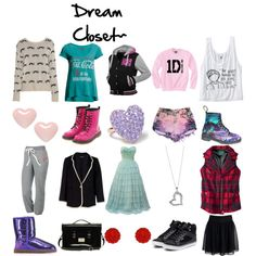 """""""Dream Closet!"""" by calm-it-curly on Polyvore"""