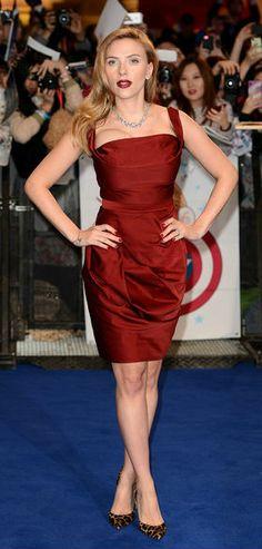 Scarlett Johansson 2014 Dresses