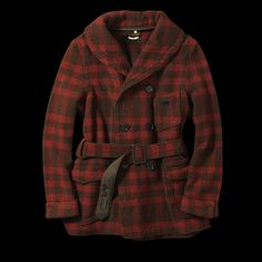 levi's mackinaw coat // 1912 reproduction