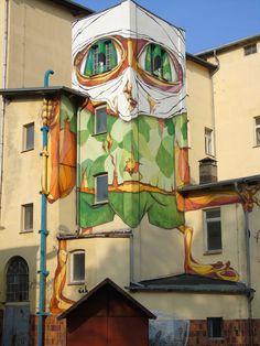 Habeerbel: Graffiti-Kunst Görlitz