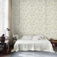 Första stora bilden av tapetern Vera Grön