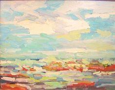 """Juan Guzman-Maldonado Ventura 22"""" x 28"""" oil on canvas $1,200"""