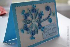 Открытка Новый год Квиллинг Новогодние открытки Бумага Бумажные полосы фото 1