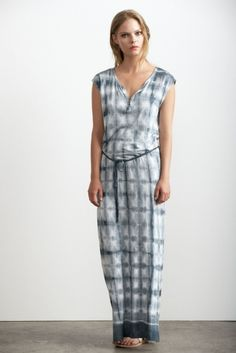CELESTA TIE DYE BELTED MAXI DRESS by Velvet. This is going to be a go-to dress this summer! Lightweight, soft, extremely comfy, and fun! @ PINK
