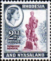 Postage Stamps Rhodesia and Nyasaland 1959 Queen Elizabeth II Fairbridge Memorial SG 21 Fine Used Scott 158 For Sale Take A LOOK