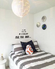 Cute simple boys room.