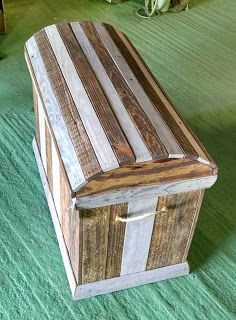 Trunk Made From Pallets   ---   #pallets   #palletprojects