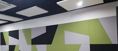 Great design and high quality acoutic panels. Loke 40 different colors at wall and fleets.