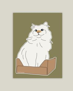 #digitalillustration #catart #doodle #minimalistart #siberiancat #catinabox #dailyfloof #catsofinstagram #cats_of_instagram #meowdel #cat #cutecat #adorable #caturday #catlovers #art Cat Illustrations, Siberian Cat, Cat Drawing, Minimalist Art, Cat Art, Digital Illustration, Cats Of Instagram, Cat Lovers, Doodles