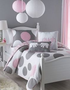 Victoria Classics Polka-Dot Parade Bedding Coordinates