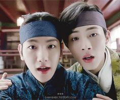 eun and jung being cuties Asian Actors, Korean Actors, Baekhyun Moon Lovers, Moon Lovers Drama, Jin, Lovers Pics, Love Moon, Korean Drama Movies, Korean Dramas