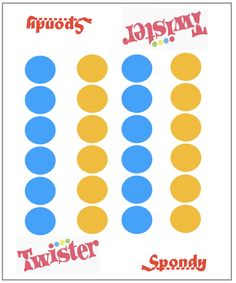 The game matt for #spondylitis #twister Ankylosing Spondylitis, Chart, Game, Gaming, Toy, Games
