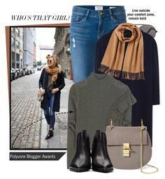 """""""Blogger style"""" by jan31 ❤ liked on Polyvore featuring Frame Denim, Roland Mouret, Each X Other, Chloé, Acne Studios and Polo Ralph Lauren"""
