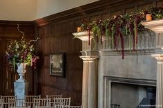 Ceremony flowers at North Cadbury Court by top Bristol florists & Event stylists, The Wilde Bunch Country House Wedding Venues, London Bride, Florists, Reception Rooms, Bristol, Wedding Events, Floral Arrangements, Wedding Flowers, Floral Design