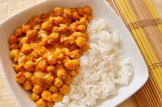Csicseriborsó curry | Citromhab | Bloglovin' Diabetic Recipes, Gluten Free Recipes, Vegan Recipes, Curry, Chana Masala, Free Food, Healthy Eating, Healthy Food, Main Dishes