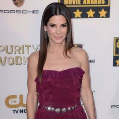 Pin for Later: People Names Sandra Bullock the World's Most Beautiful Woman!
