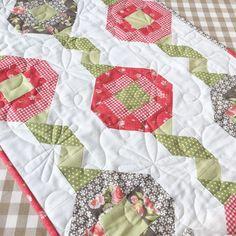 Ribbon Play pattern meet Fig Tree fabric
