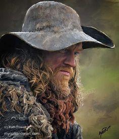 Hugh Munro by Kath Powell [©2015]