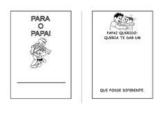 Alfabetizando com Mônica e Turma: dia dos pais