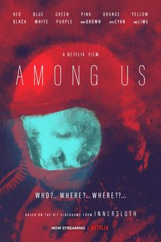 Wanted to try a gritty horror vibe with this poster - AmongUs Really Funny Memes, Stupid Funny Memes, Funny Relatable Memes, Haha Funny, Creepy, Memes Estúpidos, Video X, Lol, Gaming Memes