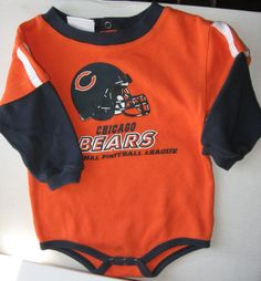 CHICAGO BEARS baby 18M body suit NFL TEAM Apparel