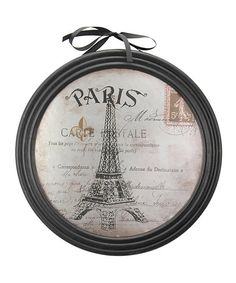 Another great find on #zulily! 'Paris' Eiffel Tower Wall Art by Stonebriar Collection  #zulilyfinds