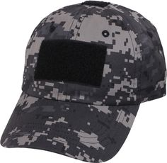 $8 | Subdued Urban Digital Camouflage Military Low Profile Adjustable Tactical Operator Cap | Army Universe