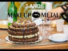ANIVERSÁRIO 3 ANOS BLOG MAKE UP METAL