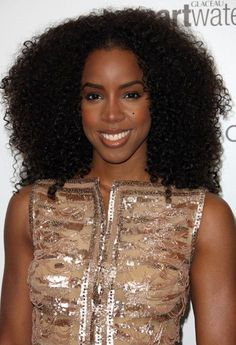 Sensational Kelly Rowland Afro And Hair On Pinterest Hairstyles For Women Draintrainus