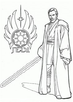 Jedi Star Wars Coloring Pages