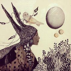 Collages et poésie   #fairytail #peaud'âne #donkeyskin #draw #posca #collage  #lucy #inzesky