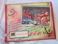 AlteredPages Artsociates: Crow and Christmas cards with Pan Pastels