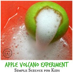 <em class=short_underline>  </em> <em class=short_underline>  </em>  <strong> Volcano science for kids </strong> is a simple but always fun experiment. You only need two ingredients, and it's super easy to set up. I couldn't wait to observe the pre-kindergarten class try this, and I just happened to have my camera around to record their observations.     <em> Disclosure: I was given a copy of The Curious Kid's Science Book to review. My review is honest and my own. This post a</em>...