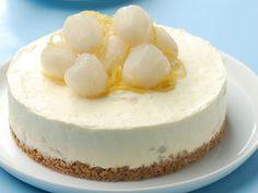 Lychee Frozen Cheesecake