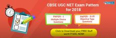 Drastic Changes in the exam pattern of UGC NET 2018 Exam. Click to check out the details.