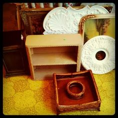 Cool Thrift Store Projects for the home