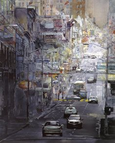 Clay Street, San Francisco -  by John Salminen
