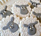 Don't be 'sheepish' about adding a little humor to your Easter celebrations especially with these cute cookies.