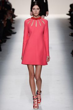 One of my favorite looks from Valentino Fall 2014 Ready-to-Wear Collection (Worn by Kirsten Dunst on a photoshoot)