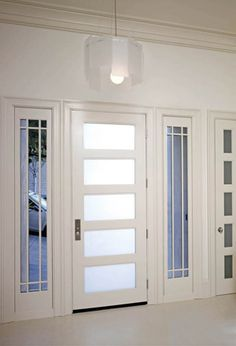 Awesome Trustile For Doors Design Ideas: Modern Door White For ...