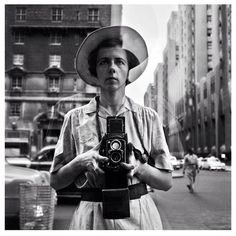 """Vivian Maier // """"Well I suppose nothing is meant to last forever. We have to make room for other people. It's a wheel...you get on, you have to go to the end, and then somebody else takes their place. Now I'm going to close and quickly run next door to do my work."""""""