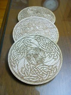 Shop for coasters on Etsy, the place to express your creativity through the buying and selling of handmade and vintage goods. Laser Cut Wood, Laser Cutting, Snow Toys, Wood Crafts, Diy Crafts, Egg Holder, General Crafts, Drink Coasters, Dremel