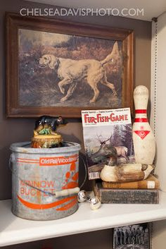 This Country Fried Life: the vintage hunting nursery Best Picture For Hunting Room organization For