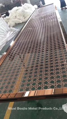 Wuxi Baojia Metal Products Co. Stainless Steel Screen, Wuxi, Decorative Screens, Metal Screen, Grill Design, Deck Railings, Staircase Design, Types Of Metal, Science And Technology
