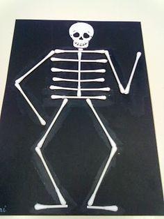 manualidades para hacer un esqueleto humano - Buscar con Google