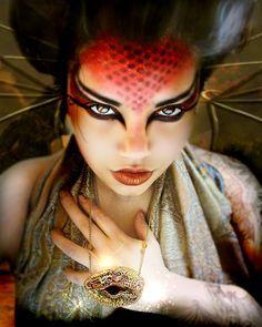 Fire Makeup on Pinterest   Makeup, Hunger Games Makeup and Eye Makeup