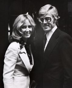 {Robert and Lola Redford} she's a lucky, lucky girl