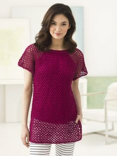 Your Crochet Style: Gulf Coast Top in 24/7 Cotton